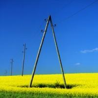 Sadales tīkls AS 0.4 kV overhead conductor line
