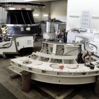 Latvenergo AS Plavinas HES new turbine assembly work