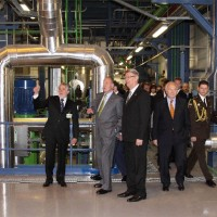 Latvenergo AS Riga TEC-2 new power unit opening ceremony on 6 May 2009