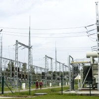 Augstsprieguma tīkls AS reconstructed Kegums 110 kV Substation