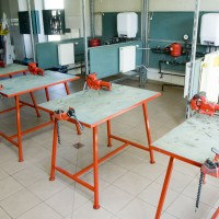 Sanitārtehnisko iekārtu montēšanas laboratorija
