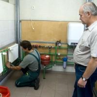 Siltumapgādes sistēmas montēšanas praktiskā apmācība